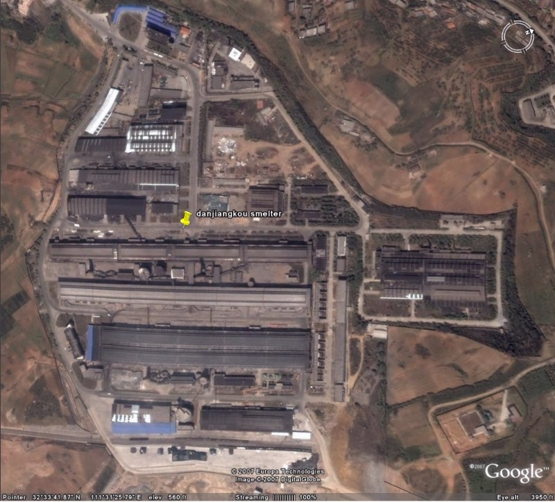 Danjiangkou China  city images : smelter name hanjiang danjiangkou location danjiangkou shi china ...