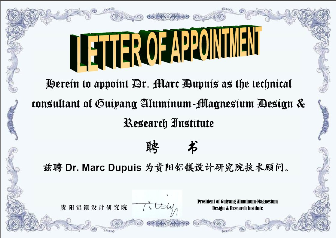letter of appointment